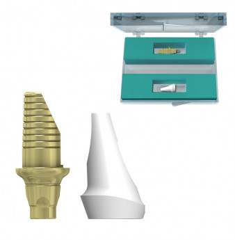 Zirconia 15 abutment set h.1.5mm coni. con., NP