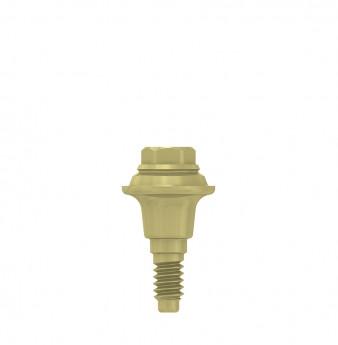 Multi unit abutment, h. 1mm, coni. con., NP