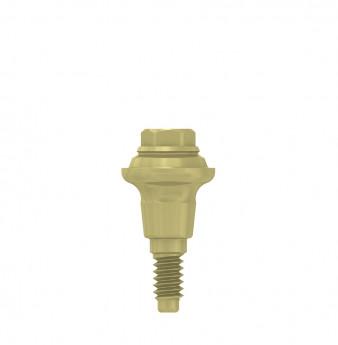 Multi unit abutment, h. 2mm, coni. con., NP