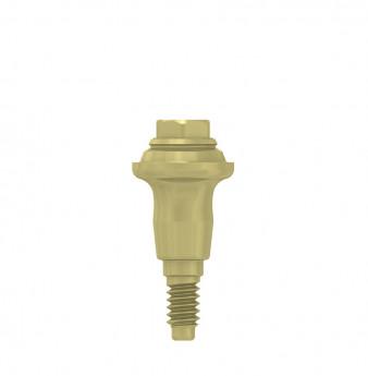 Multi unit abutment, h. 3mm, coni. con., NP