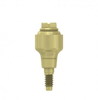 Multi unit abutment, h. 4mm, coni. con., NP