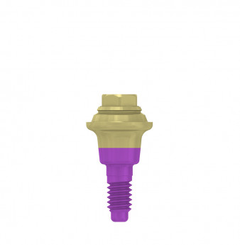 Multi unit abutment, h. 1mm, coni. con., SP