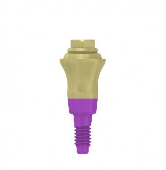 Multi unit abutment, h. 4mm, coni. con., SP