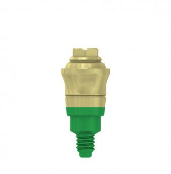 Multi unit abutment, h. 3mm, coni. con., WP
