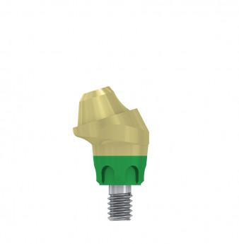 Multi unit 17 deg. angulated abut., h. 1mm, coni. con., WP