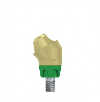 Multi unit 30 deg. angulated abut., h. 1mm, coni. con., WP