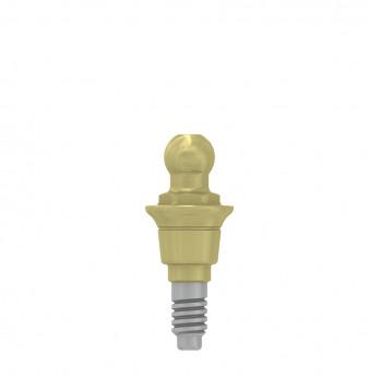 Ball attachment anchor 1mm coni. con., NP