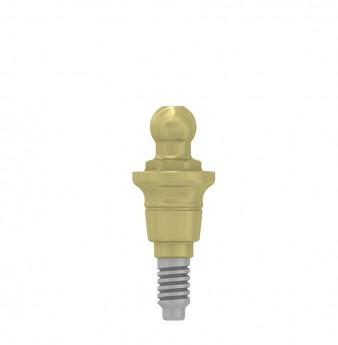 Ball attachment anchor 2mm coni. con., NP