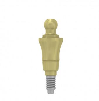 Ball attachment anchor 4mm coni. con., NP