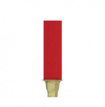 Coni. con. direct anti rotation gold plastic cyl., NP