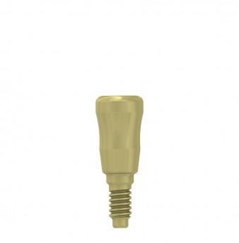 Thin healing cap 3.3x4mm coni. con., NP