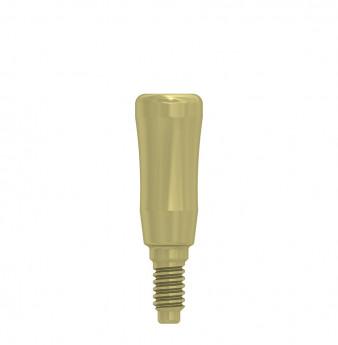 Thin healing cap 3.3x6mm coni. con., NP