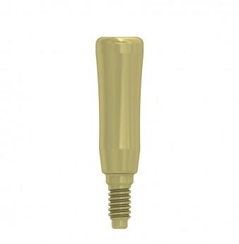 Thin healing cap 3.3x8mm coni. con., NP