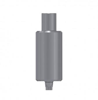 Titanium blank 9mm, anti rotation, coni. con., NP