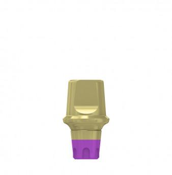 Coni. con. 1mm transgingival abutment h.4mm, SP
