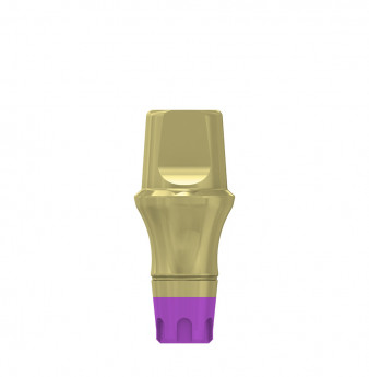 Coni. con. 4mm transgingival abutment h.4mm, SP