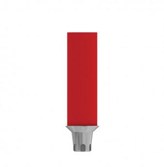 Coni. con. direct anti rotation gold plastic cyl., SP