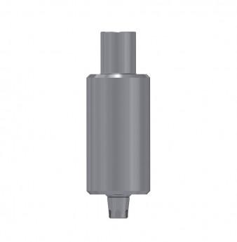 Titanium blank 9mm, anti rotation, coni. con., SP