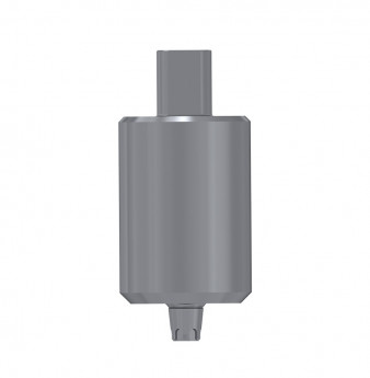 Titanium blank, anti rotation, conical connection, SP