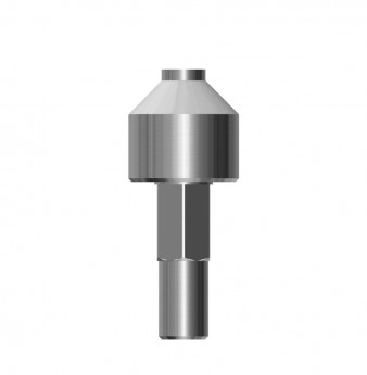 Coni. con. implant analog SP for universal hand driver