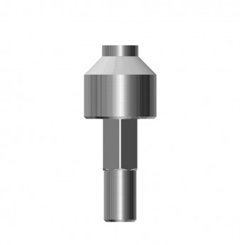 Coni. con. implant analog WP for universal hand driver