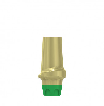 Esthetic abutment, 1mm gingiva height, coni. con., WP