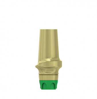 Esthetic abutment, 2mm gingiva height, coni. con., WP