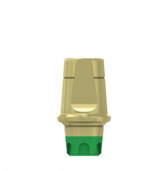 Coni. con. 1mm transgingival abutment h.6mm, WP