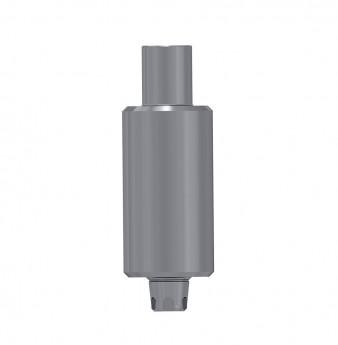 Titanium blank 9mm, anti rotation, coni. con., WP