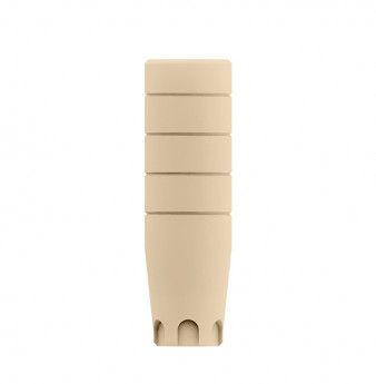 Coni. con. direct temporary plastic cylinder, WP