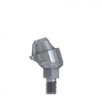 Multi unit 17 deg. angulated abut., h. 1mm, int. hex., SP
