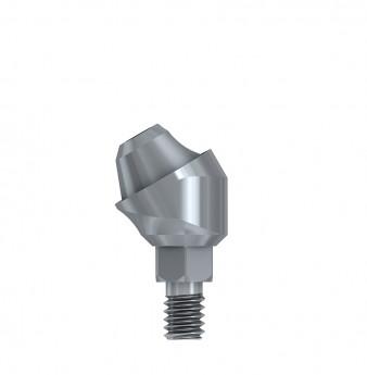 Multi unit 30 deg. angulated abut., h. 1mm, int. hex., SP