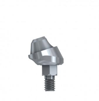 Multi unit 17 deg. angulated abut., h. 1mm, int. hex., WP