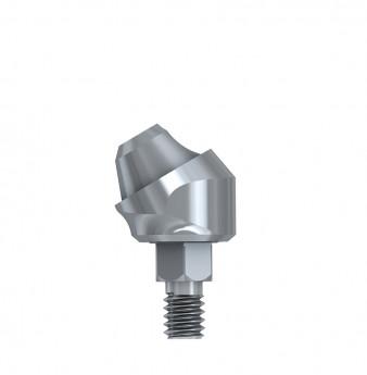 Multi unit 30 deg. angulated abut., h. 1mm, int. hex., WP