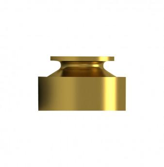 Gold ball cap