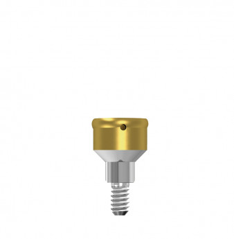 Locator abutment 2mm hgt, NP