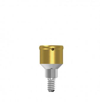 Locator abutment 3mm hgt, NP