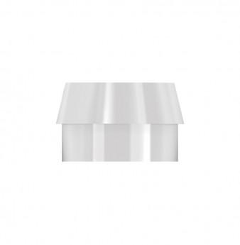 Standard plastic cap for metal housing