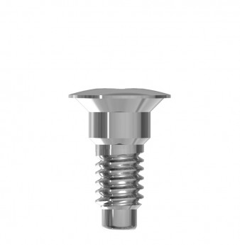 Cover screw Narrow internal hex.