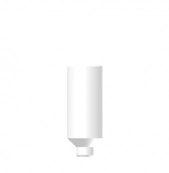 Wide profile direct plastic cylinder without hex SP