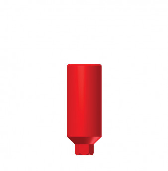Wide profile direct plastic cylinder with hex SP