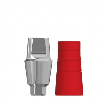 Anatomic 4mm transgingival abutment, h. 4mm SP