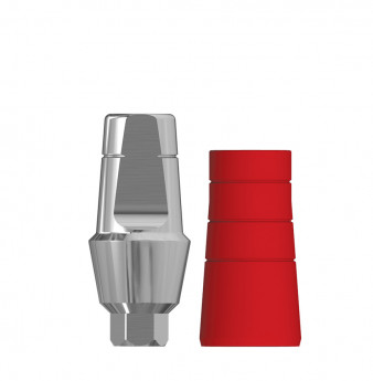 Anatomic 3mm transgingival abutment, h. 6mm SP