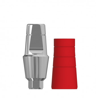 Anatomic 4mm transgingival abutment, h. 6mm SP