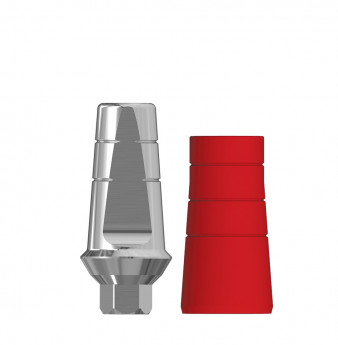 Anatomic 1mm transgingival abutment, h. 8mm SP