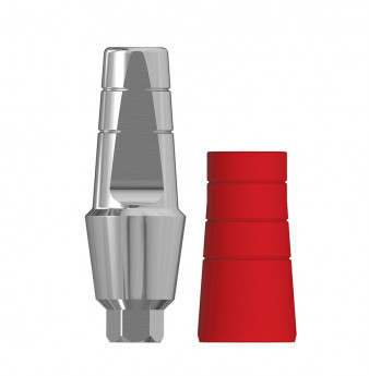 Anatomic 4mm transgingival abutment, h. 8mm SP