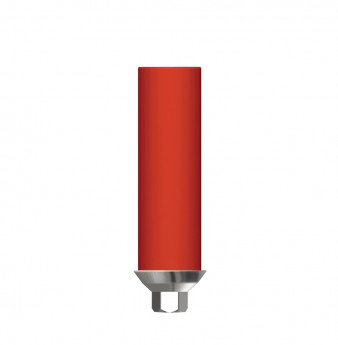 Direct gold plastic cylinder with hex. SP