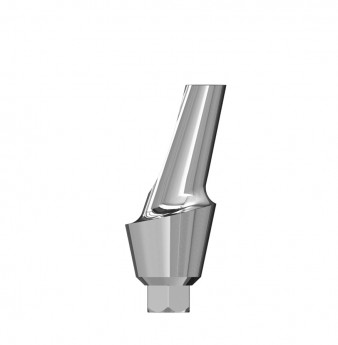 Esthetic 15 angulated abutment internal hex. 3mm