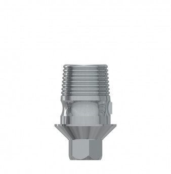 Ti Base h. 4mm with hex., int. hex., SP