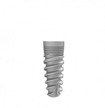 Seven internal hex. implant dia. 3.75 L 10mm